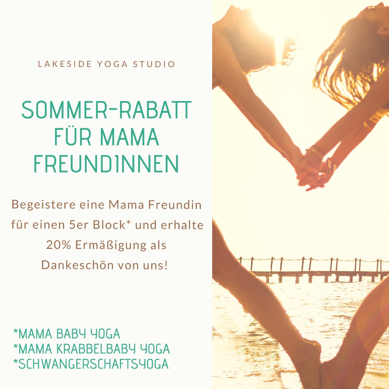 Sommer -Rabatt Für Mama Freundinnen