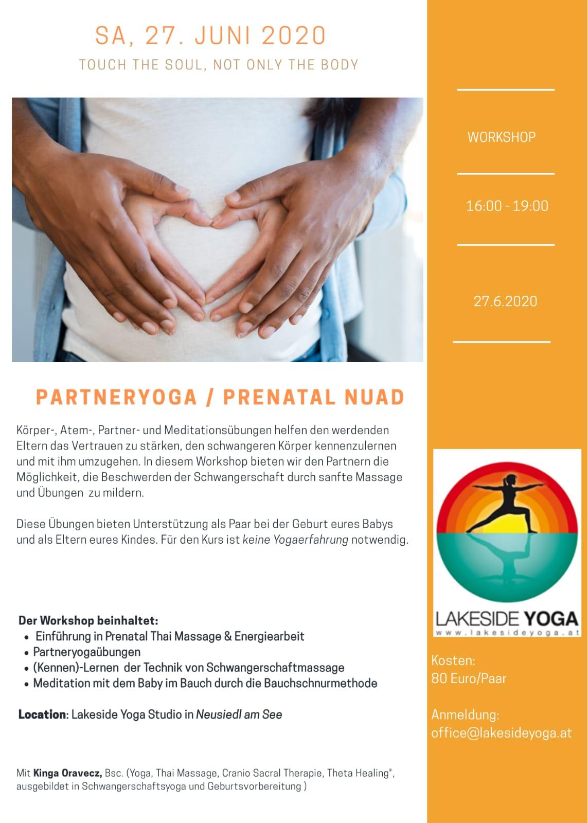 Partner Yoga/ Prenatal Nuad