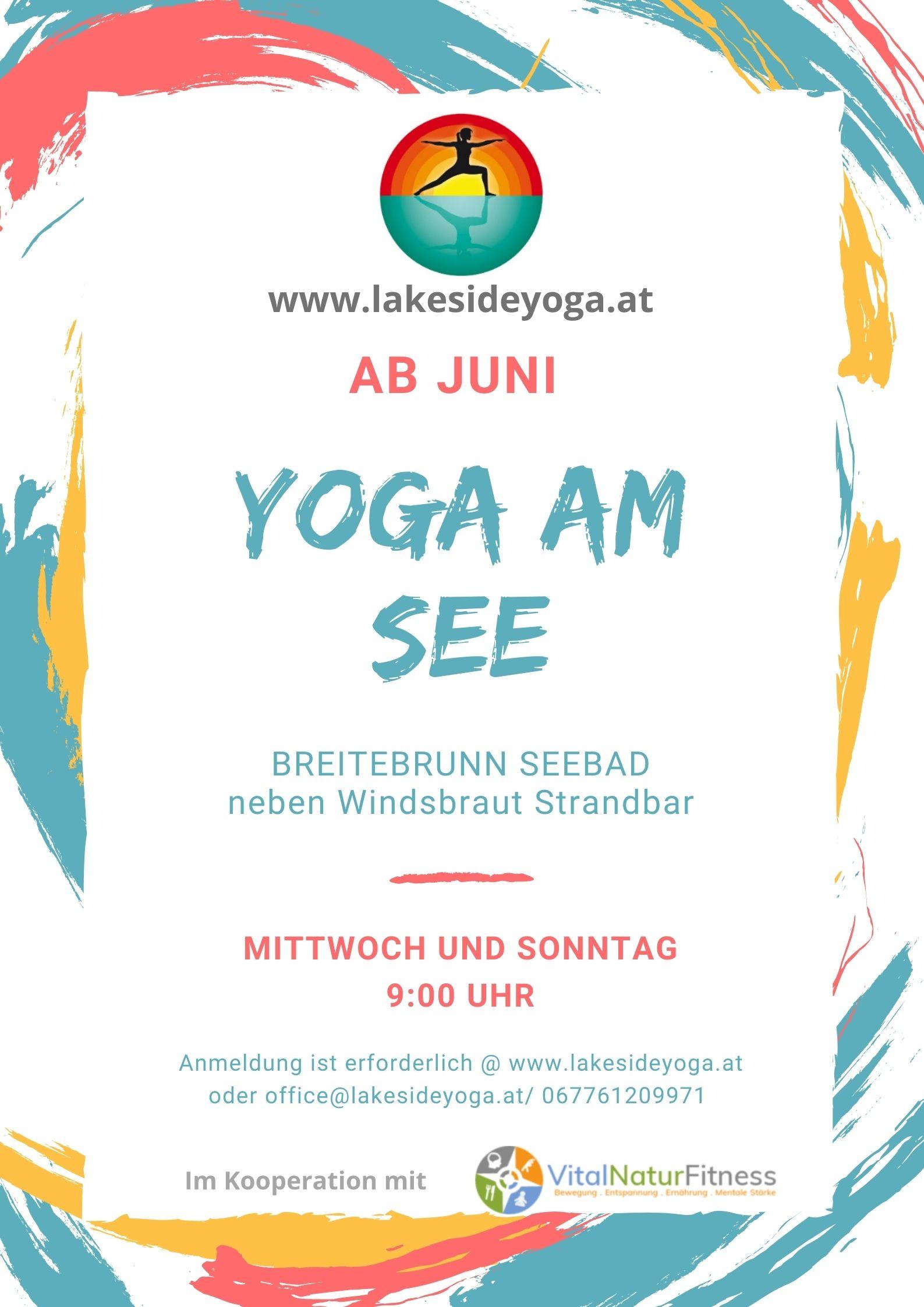 Yoga am See – Seebad Breitenbrunn am See