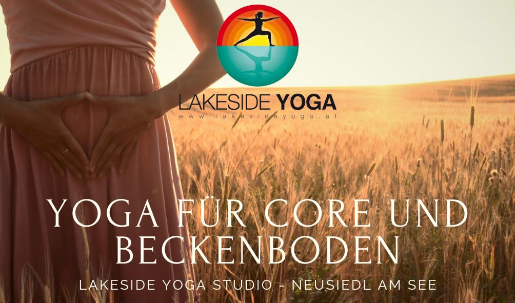 Yoga für Core & Beckenboden Schnupperstunde